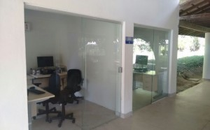 Uma das salas para uso pela comunidade acadêmica (crédito: Victor Porto)
