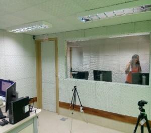 Espaço permitirá gravação em áudio e vídeo com qualidade (crédito: João Victor Reis)