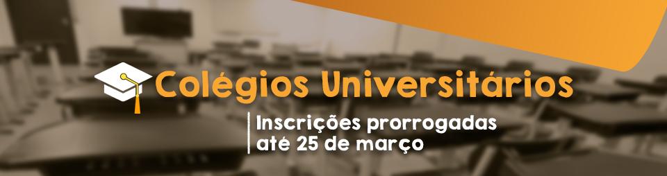 Colégios Universitários 2019