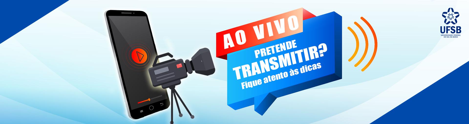Orientações de preparo e moderação para transmissões ao vivo e lives