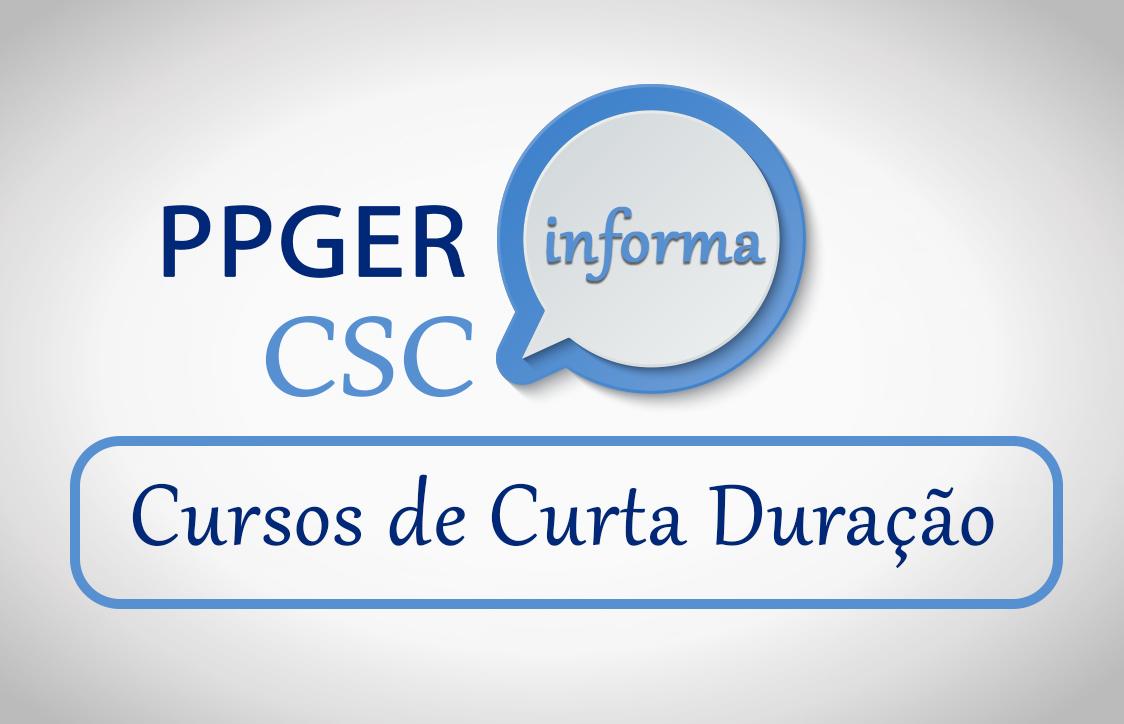 Cursos de Curta Duração - CSC
