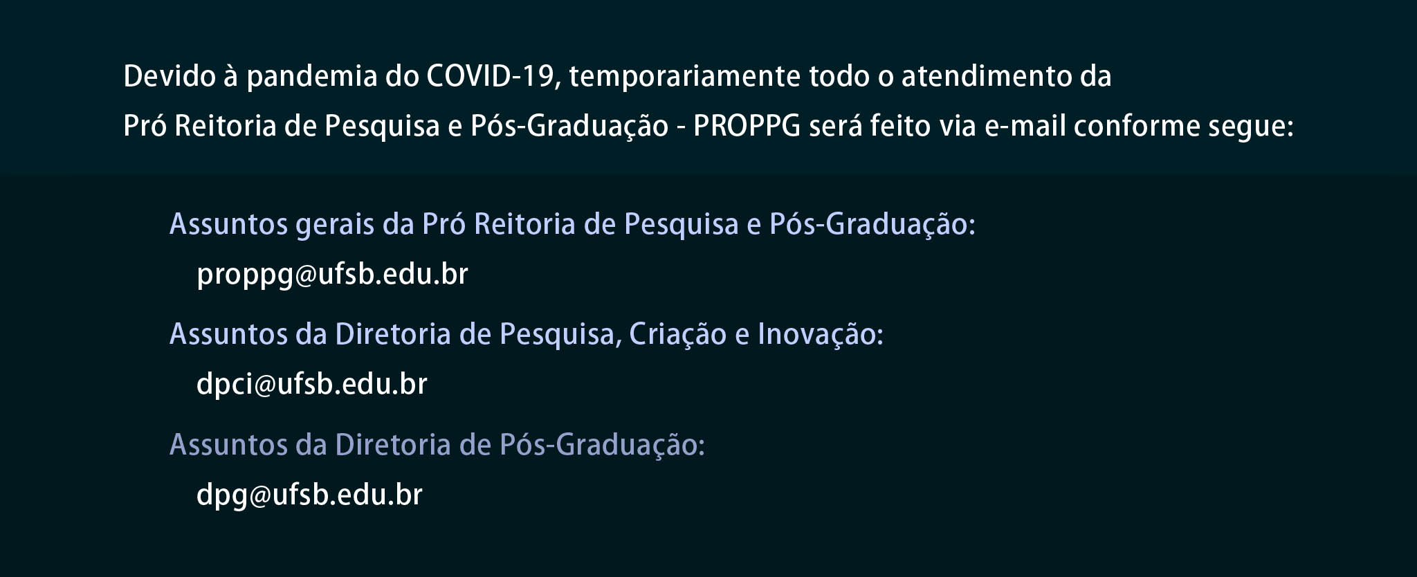 Nota Covid PROPPG